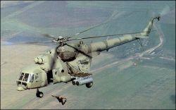Иракский военный вертолет упал на севере страны