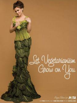 Алисса Милано проращивает в нас вегетарианство