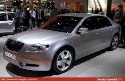 В Женеве дебютировал новый пятидверный седан Skoda Superb
