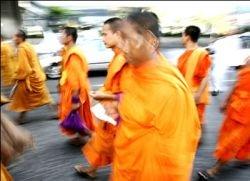 Буддийских монахов прогонят из сети