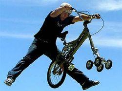 В Австралии изобрели пятиколесный велосипед