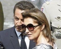 Бывшая жена Николя Саркози вновь выходит замуж