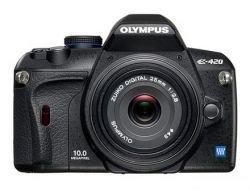 Olympus E240: самая маленькая и легкая «зеркалка»