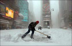В Испании сильнейшие снегопады, есть жертвы