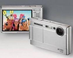 Очень тонкая камера DC 7411 от Minox