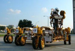 Ученые спроектировали лунную колесницу