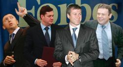 Двадцатка российских миллиардеров: рейтинг Forbes