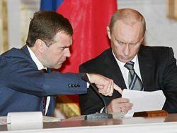 Действующий и будущий президент России поделили места работы и отдыха