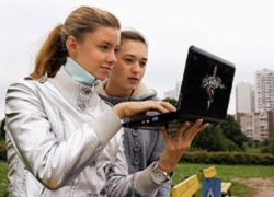 """В России начались продажи компьютера \""""для блондинок\"""""""