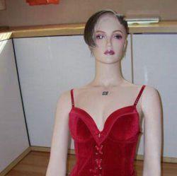 Компьютер в манекене (фото)