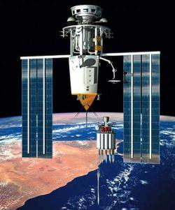 Идет ли в космосе  гонка вооружений?