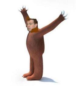 В России стали ходить первые шутки про Дмитрия Медведева
