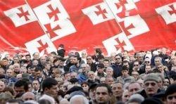 Парламент Грузии окружен голодающими оппозиционерами