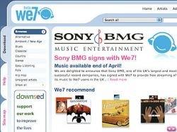 Sony BMG подружилась с бесплатным музыкальным сервисом