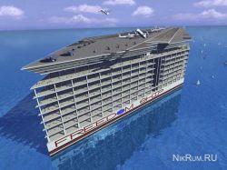 Freedom Ship - искусственный остров-город