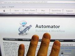 Automator автоматизирует Microsoft Office 2008 для Macintosh