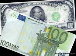 Новый рекорд соотношения доллар — евро