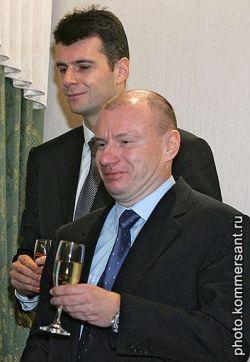 Михаил Прохоров и Владимир Потанин поделят золотой процент