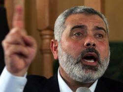 Лидер движения ХАМАС Исмаил Ханийя поставил Израилю ряд условий