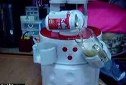 Пивной робот охладит и нальет вам пиво