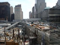 Лестница Всемирного торгового центра станет частью мемориала