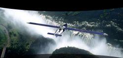 Hy-Bird - самолет летающий на солнечной энергии