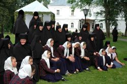 В Грузии дотла сгорел женский монастырь