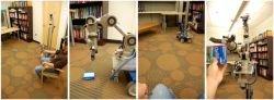 Американцы создали робота, управляемого лазерной указкой