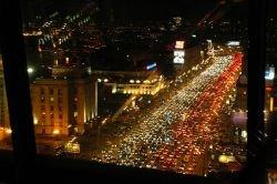 Дорожный движение в городах подтверждает закон Парето