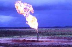 Впустую тратится 25% добываемого в России газа