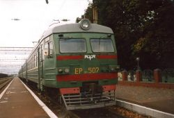 Пьяная белоруска не заметила, что спит под колесами идущего поезда