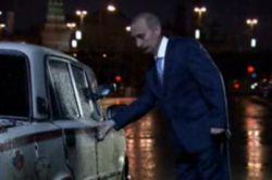 Как Владимир Путин ловил такси? (видео)