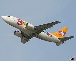У лайнера Sky Express во время полета треснуло лобовое стекло