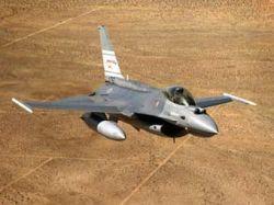 В Аризоне разбился истребитель F-16