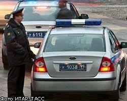 В Москве машина с мигалкой устроила крупное ДТП