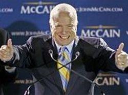 Республиканец Джон Маккейн может победить на президентских выборах в США