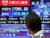 В Азии рухнули фондовые рынки