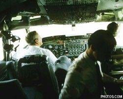Пилот пассажирского самолета проспал посадку