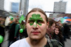 Репортаж с празднования Дня святого Патрика в Москве (фото)