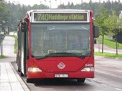 Шведские автобусы подключаются к WiMax