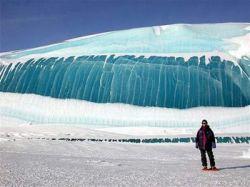 Замерзшие волны (фото)