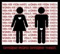 Битва женщин против мужчин (видео)