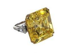 Желтый бриллиант продан за семь миллионов евро