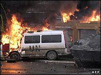 Контроль над Митровицей передан силам НАТО
