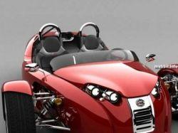 Трехколесный спортивный автомобиль Cirbin V13R (фото)