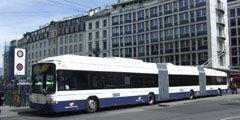 В аэропорту Женевы - бесплатные билеты на городской транспорт