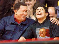 Диего Марадона вновь вышел на футбольное поле