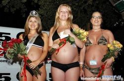 В Нью-Йорке прошел конкурс красоты для беременных (фото)