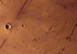Загадочный Марс пережил пять периодов активности вулканов