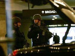 Нью-Йоркские полицейские борются с террористами флэш-мобом